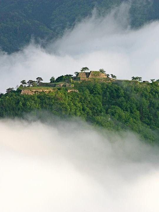 Takeda Castle Ruins, Asago, Hyogo, Japan