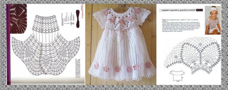 http://crocheprobebe.blogspot.com/2013/09/vestidinhos-achados-na-netpura.html