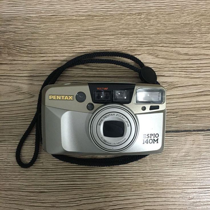 Pentax Silver Espio 140M AF Multi Film Camera Photography With Case | eBay
