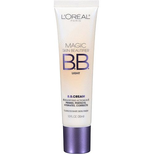 L'Oreal Paris Magic Skin Beautifier B.B. Cream...This stuff really is magic, so lightweight and smooth, love it.