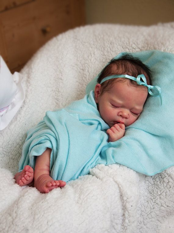 Reborn Baby Arrianna with Free Belly Plate by LookingGlassNursery