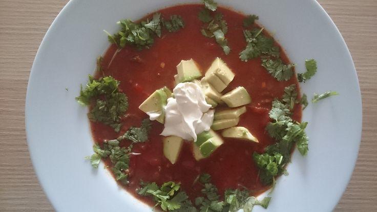 Aztécká polévka