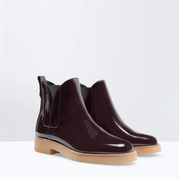 Image 2 of CONTRASTING CHELSEA BOOT from Zara