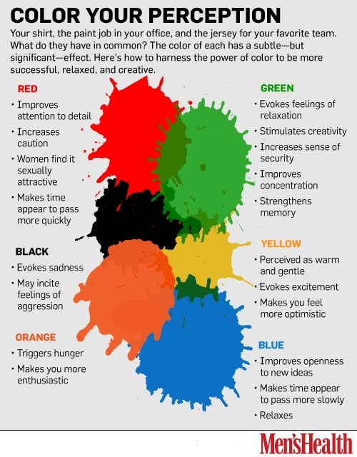 see how colors can impact moods feelings and behaviors