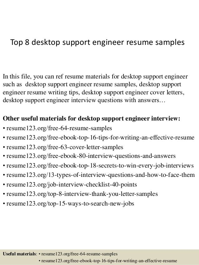 13 best Bio Examples images on Pinterest Sample resume, Cover - desktop support resume samples