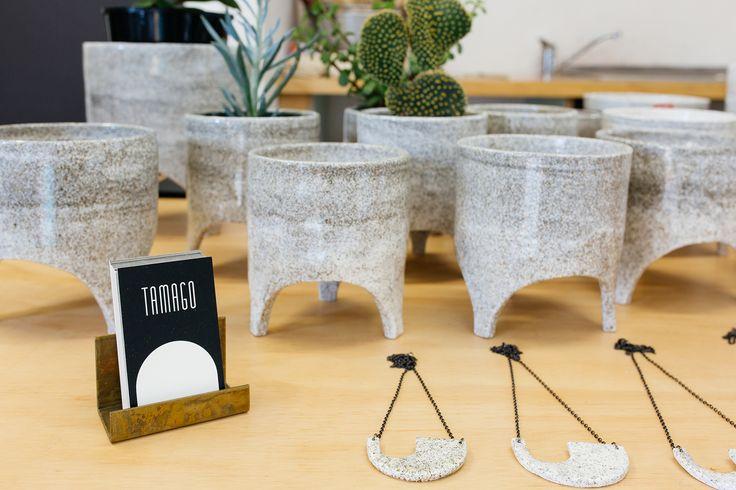 The Neighbourhood Market- work by Tamago Ceramics.