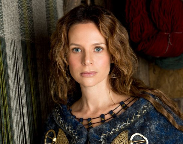 """Exclusive VIKINGS Jessalyn Gilsig """"Siggy"""" Interview - Don't miss the season finale tomorrow night on History http://www.lenalamoray.com/2013/04/27/exclusive-vikings-jessalyn-gilsig-siggy-haraldson-interview-history-channel/"""
