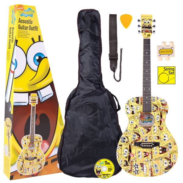 SpongeBob SquarePants: Acoustic Guitar Pack. £109.00