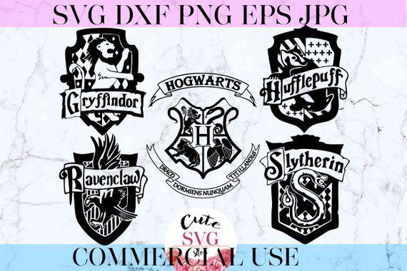 Hogwarts Houses Svg Hogwarts Crests Svg Harry Potter Svg Hogwarts Svg Gryffindor Hufflepuff Raw Hogwarts Wappen Harry Potter Silhouette Griffindor Wappen