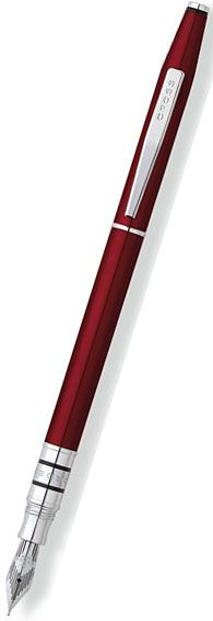 Cross Spire Fountain Pen Titian Red Lacquer $132--Love how slim this is.  I think too many fountain pens were made for people with really big hands.