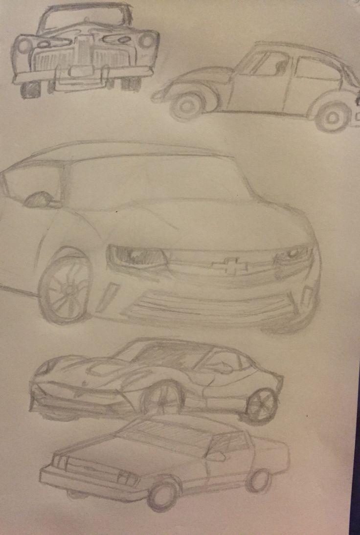 Doodles de la semana: vehículos.