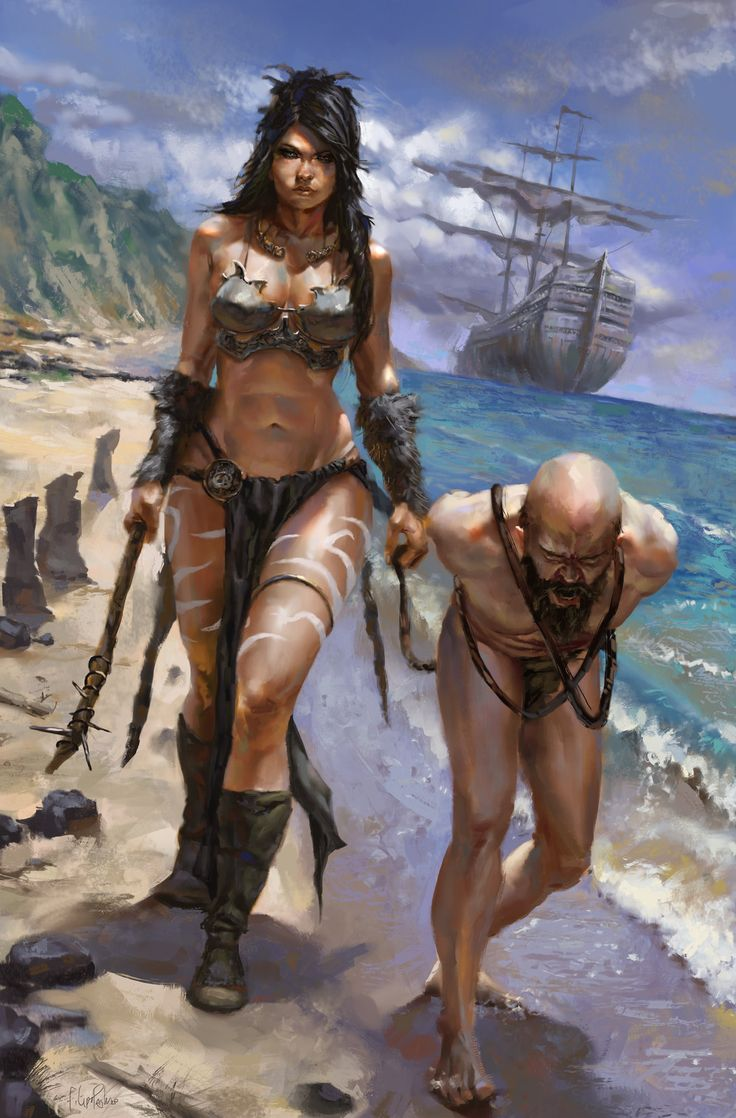 Barbarian Chic, Filipe Pagliuso on ArtStation at http://www.artstation.com/artwork/barbarian-chic