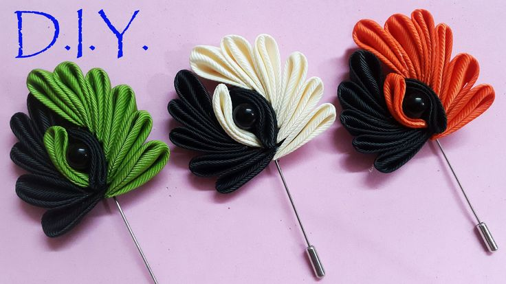 D.I.Y. Kanzashi Lapel - Father's Day Special