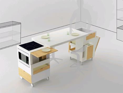 Corner or Central: All-in-One Kitchen & Dining Furniture Set