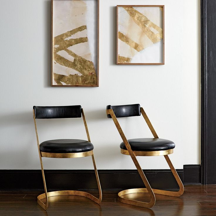 Pristine DwellStudio Farrah Dining Chairs Set