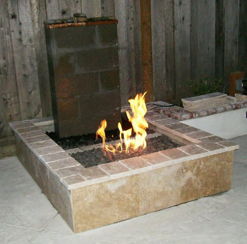 Covering Ugly Cinder Blocks With Tile Patio Plans