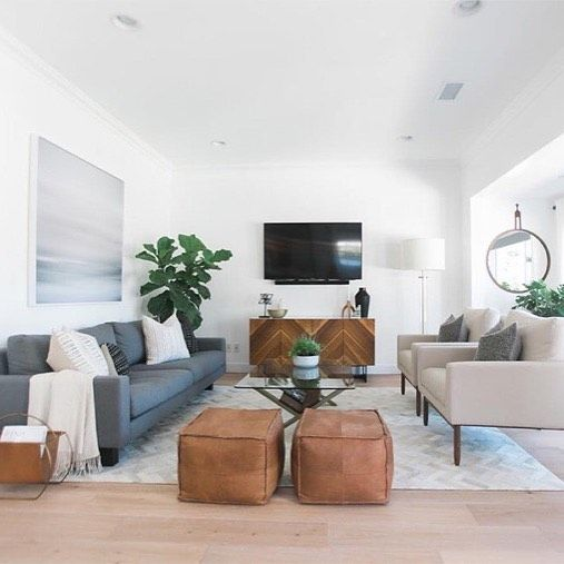 This space from @lindyegalloway is so balanced and so perfect California  We recreated it all for less! http://cpycat.ch/2sOs4K4 #CopyCatChic