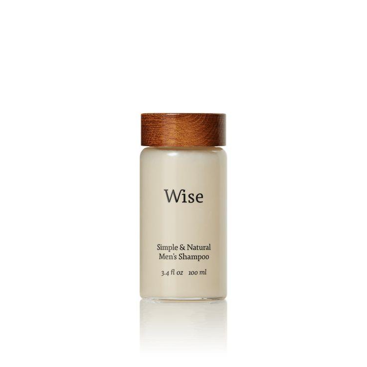 Wise shampoo 100 ml bottle