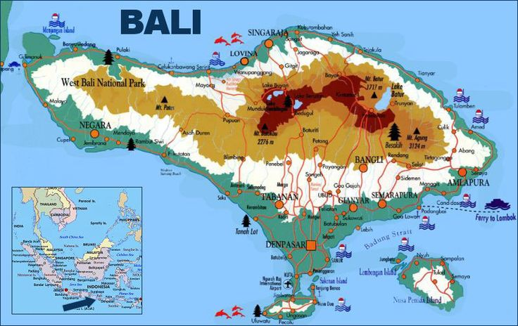 Indonesia, Bali holiday, Where is Bali. Travel Information.