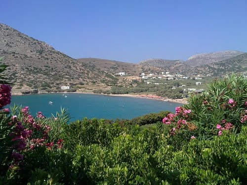 Galissas #syros - this is the island's touristy bit.