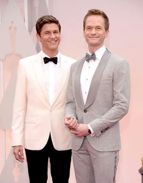David & Neil Patrick Harris #Oscar2015