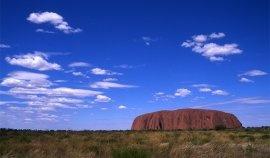 Ayers Rock, Uluru au coucher du soleil