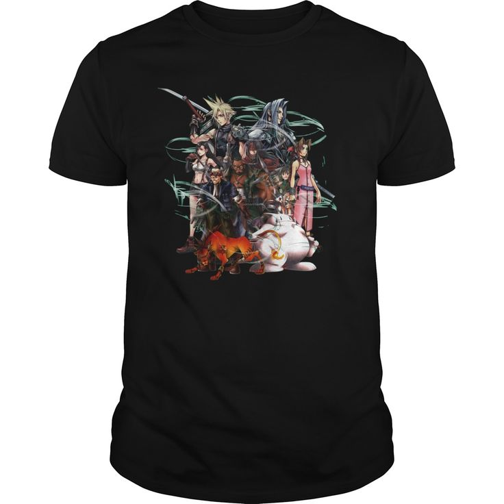 Final Fantasy VII  Collage TShirt  #tshirt #shirt #sunfrog #coupon #fantasy #love #fantasytshirt