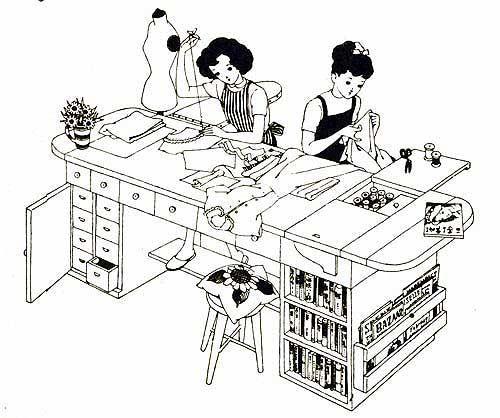 中原淳一の「夢の机」