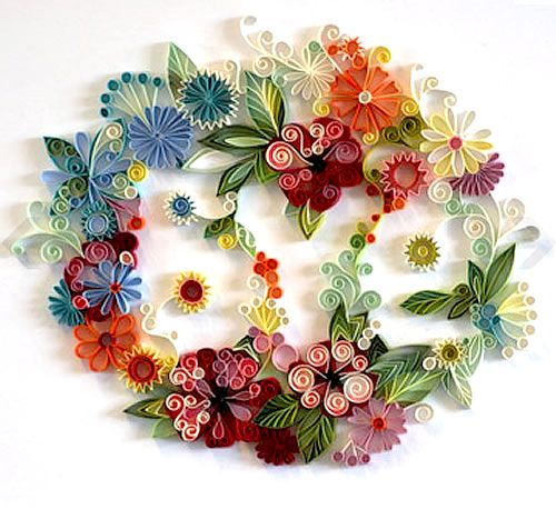Best Yulia Brodskaya Art Images On Pinterest Cards Quilling - Vibrant paper illustrations sculptures yulia brodskaya