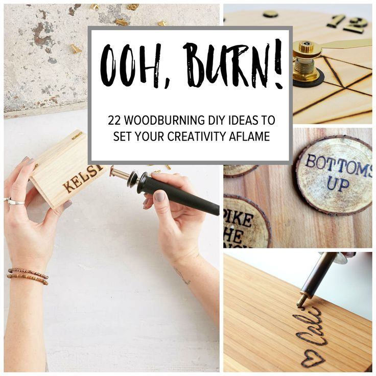 Woodburning DIY Ideas to try today. Walls, cutting boards, personalize everything.