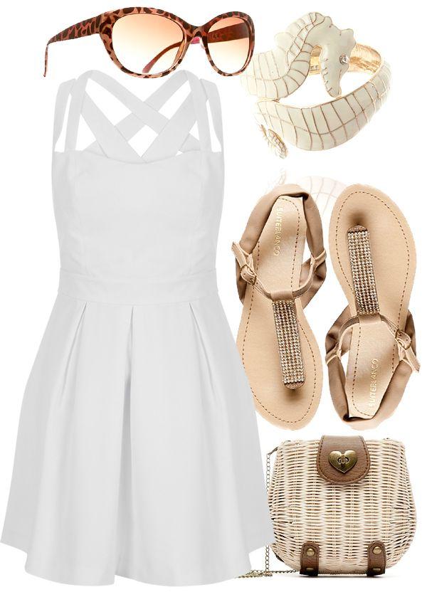 Outfit boda en la playa