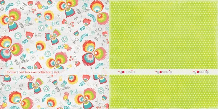NEW COLLECTION! with for fun #scrapbooking #goscrap