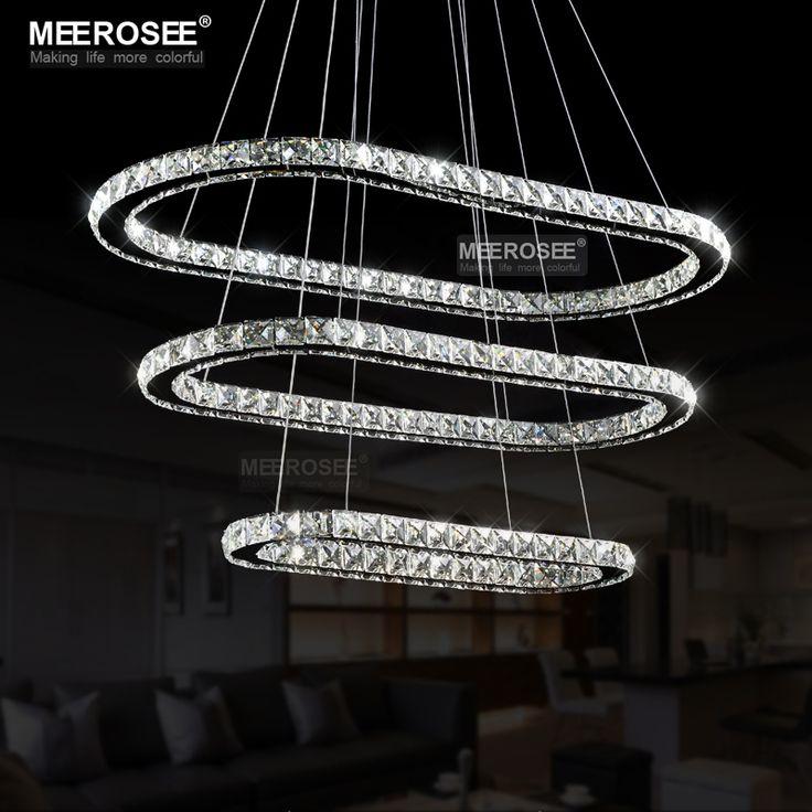 find more chandeliers information about modern oval led crystal chandelier led crystal light fixture lustre de teto led suspension drop lamp for dining room