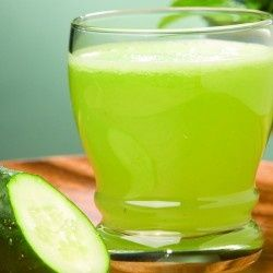 Ingredients:    2 large cucumbers peeled  2 kiwis  1/4 lime    Directions:    1. Juice all ingredients.    2. Enjoy~!