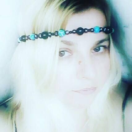 Check out this item in my Etsy shop https://www.etsy.com/uk/listing/533815746/black-pearls-onix-and-ocean-jade-crown