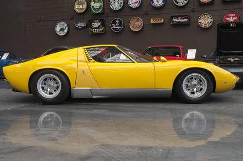 1968 Lamborghini Miura P400 For Sale