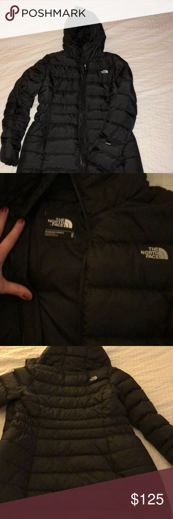 North Face Women's Jacket Women's North Face Gotham Parka II. So warm and cozy. Perfect for those cold winter days (and nights!). This is a size medium. I'm a little bustier than the medium allows, otherwise I would be keeping this! The North Face Jackets & Coats
