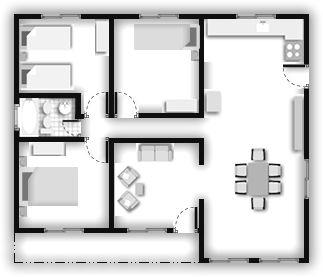 Las 25 mejores ideas sobre viviendas premoldeadas en - Casas americanas planos ...