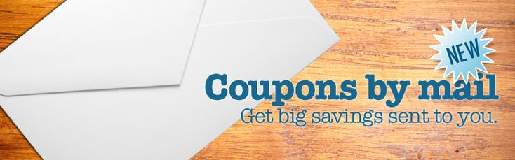 "One of the many places to get coupons mailed to you!  ""Right@Home Coupons"""