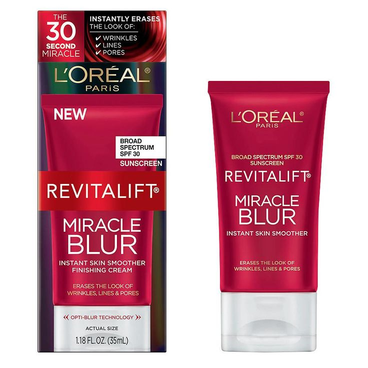 L'Oreal Paris RevitaliftMiracle Blur Instant Skin Smoother Finishing Cream, SPF 30 at Walgreens. Get free shipping at $35 and view promotions and reviews for L'Oreal Paris RevitaliftMiracle Blur Instant Skin Smoother Finishing Cream, SPF 30