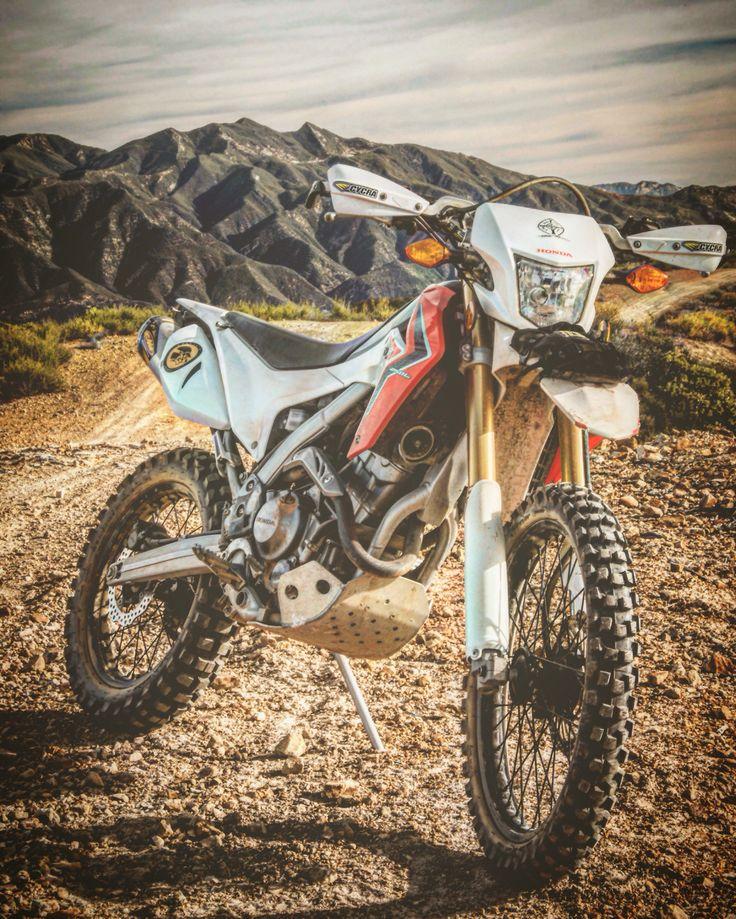 2014 Honda CRF250L dual sport. Motorcycle dual sport adventure. Santa Barbara California. Photo by Nick Dellar.