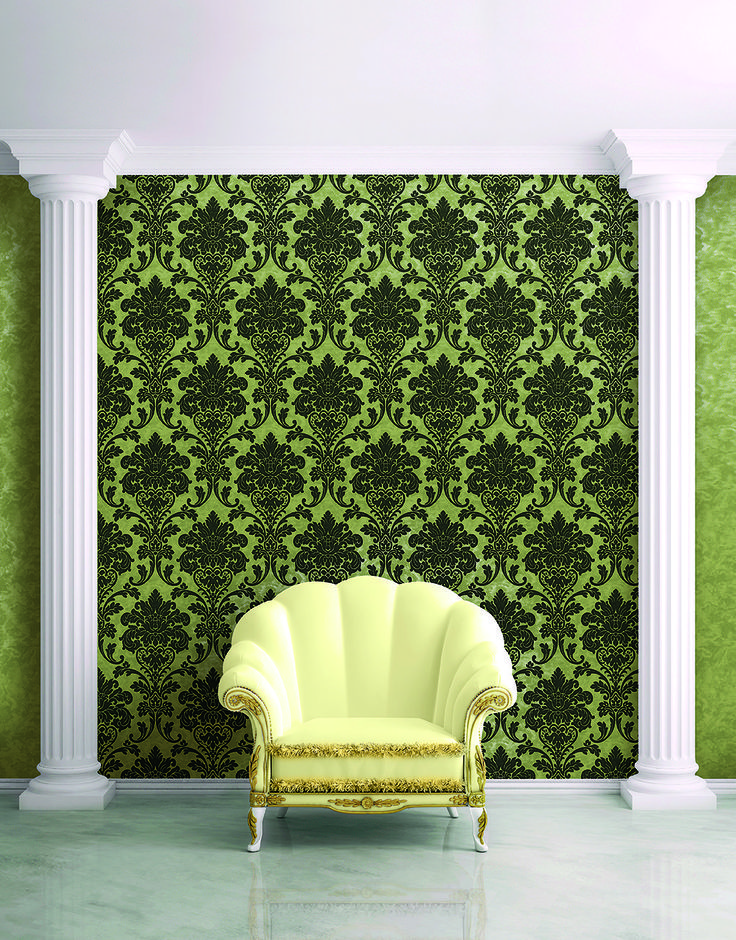 Kashmir #wallpapers, colours of Asia with italian touch. #luxury #wallcoverings Max Martini Home. Made in Italy