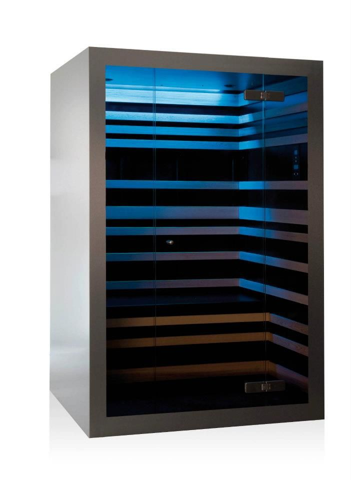 The first design-infrared sauna design by www.thermalux.be