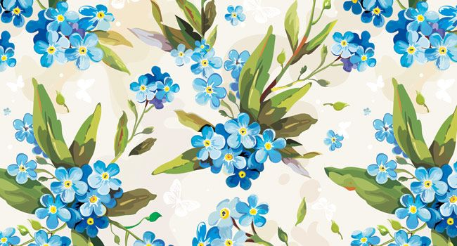 Vintage floral pattern desktop wallpaper - photo#8