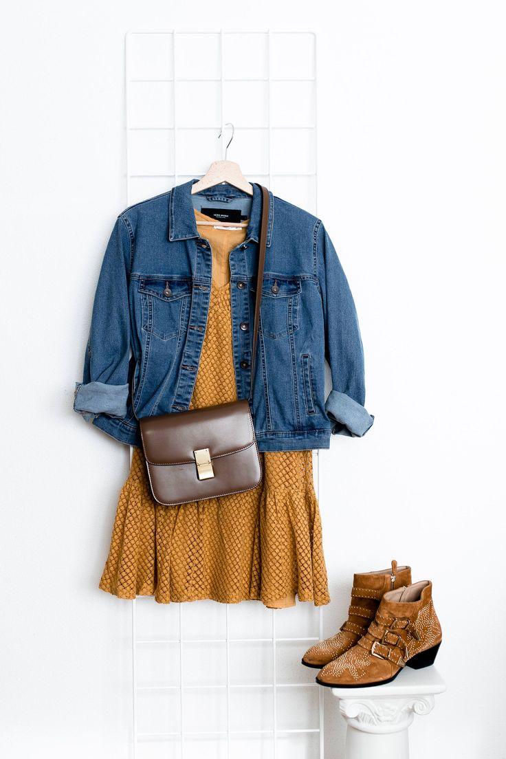 Was ziehe ich morgen an? 5 lässige Outfits mit Kleidern für den Alltag