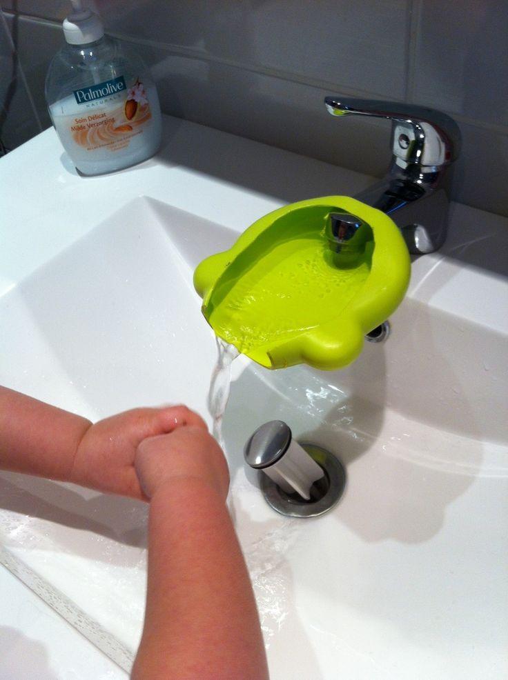 Rallonger un robinet pour les enfants