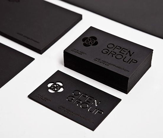 modern business card example 8 30 Modern Business Card Examples