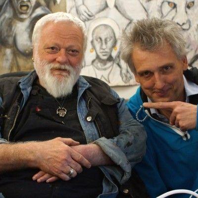 Nando Snozzi e Markus Zohner dialogano sull'arte e sulla follia come due facce dello steso mondo, sulla pittura come evasione, come spazio in cui la follia si separa dalla realtà. Entrambi hanno riflettuto sull'importanza della cultura come vero investimento, sulla casualità e la fatalità del destino.