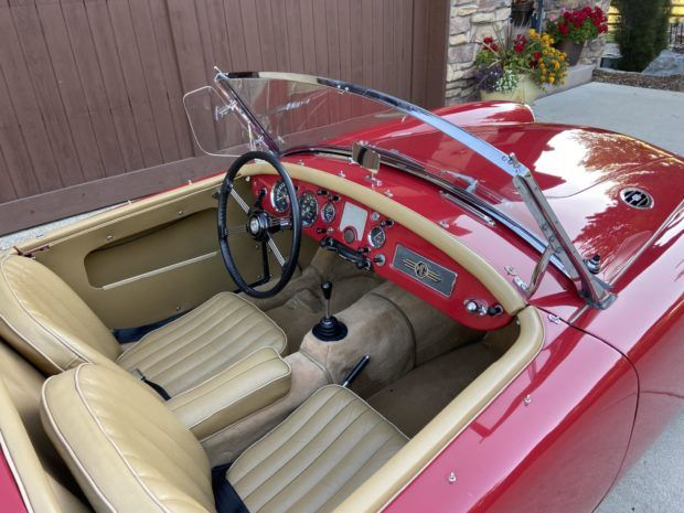 25 Years Owned 1958 Mg Mga Roadster In 2020 Roadsters Tonneau Cover Old Cars