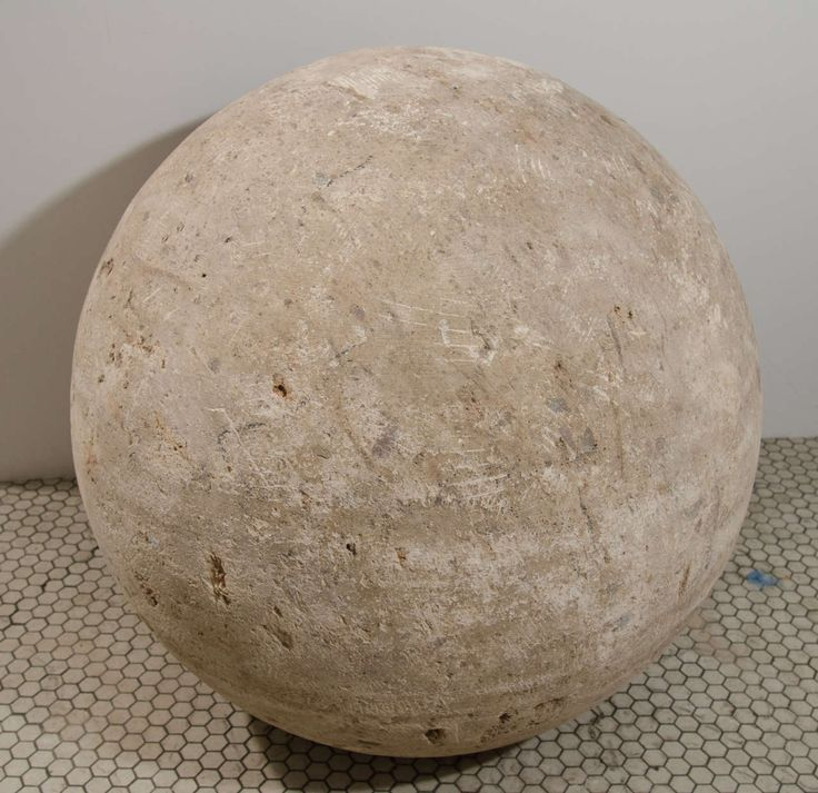 Mexican Terracotta Sphere | From a unique collection of antique and modern decorative objects at https://www.1stdibs.com/furniture/more-furniture-collectibles/decorative-objects/